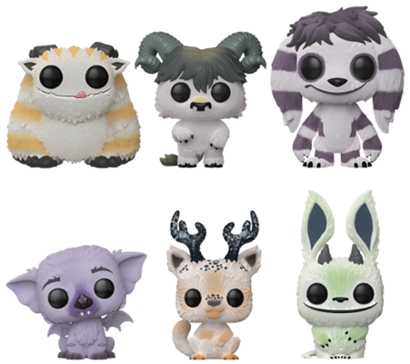 Funko Pop! Monsters Winter Forrest (Flocked) 6-Pack