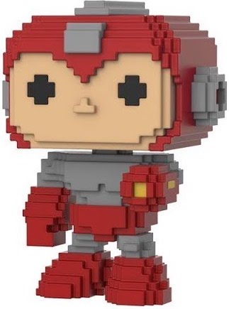 Funko Pop! 8-Bit Mega Man (Red) - CHASE
