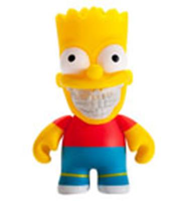 Kid Robot Simpsons x Kidrobot Bart Grin