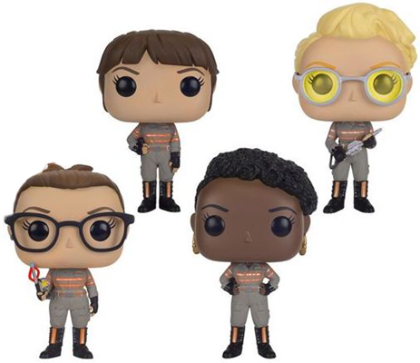 Funko Pop! Movies Ghostbusters (4-Pack) Icon Thumb