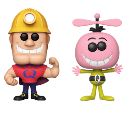 Funko Pop! Ad Icons Quisp & Quake (2-Pack)