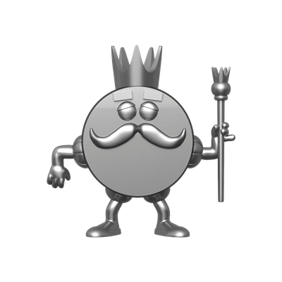 Funko Pop! Ad Icons King Ding Dong (Platinum)