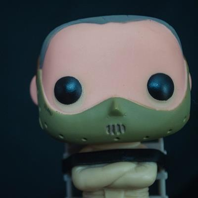 Funko Pop! Movies Hannibal Lecter chelszyo on tumblr.com