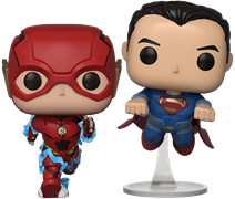 Funko Pop! Heroes The Flash & Superman (Racing)