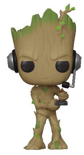 Funko Pop! Marvel Groot (Gamer) (Chase)