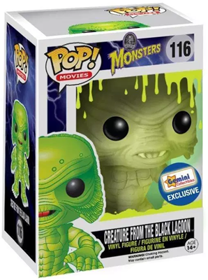 Funko Pop! Movies Creature from the Black Lagoon (Glow) Stock