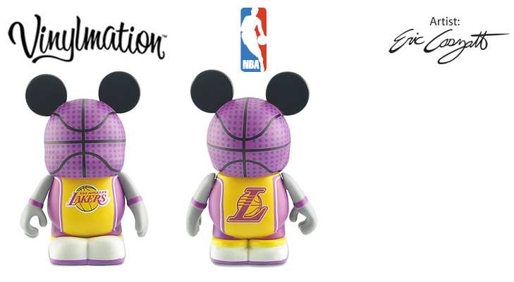 Vinylmation Open And Misc NBA Los Angeles Lakers