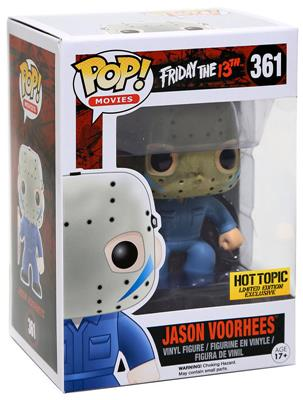 Funko Pop! Movies Jason Voorhees (Blue Jumpsuit) Stock