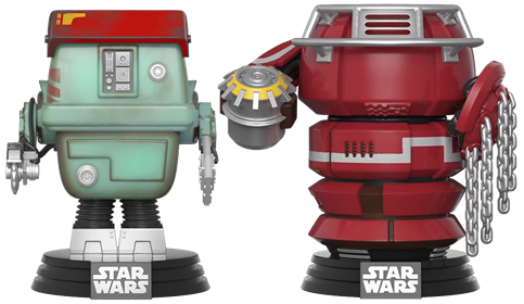 Funko Pop! Star Wars Fighting Droids (2-Pack)