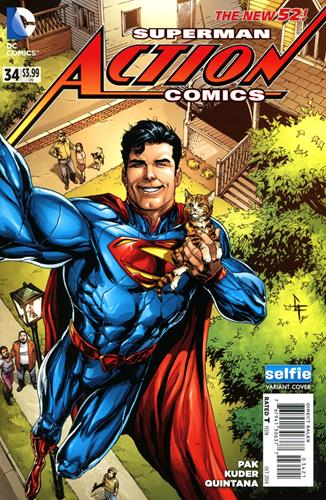 DC Comics Action Comics (2011 - 2016) Action Comics (2011) #34A Icon