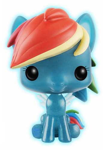 Funko Pop! My Little Pony Rainbow Dash (Glow in the Dark)