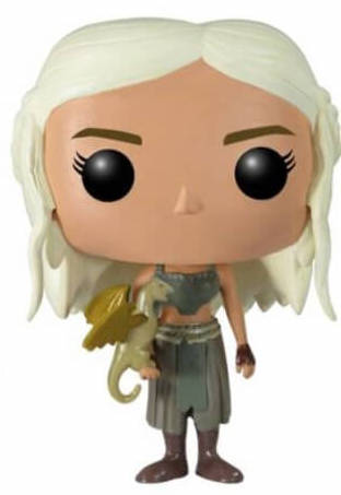 Funko Pop! Game of Thrones Daenerys Targaryen (Gold Dragon)