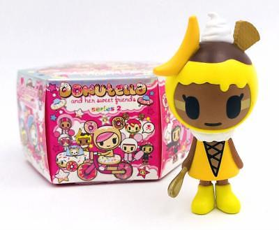 Donutella and her Sweet Friends Series 2 Tokidoki Vinyl Figure Banana Anna