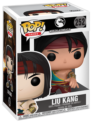Funko Pop! Games Liu Kang Stock