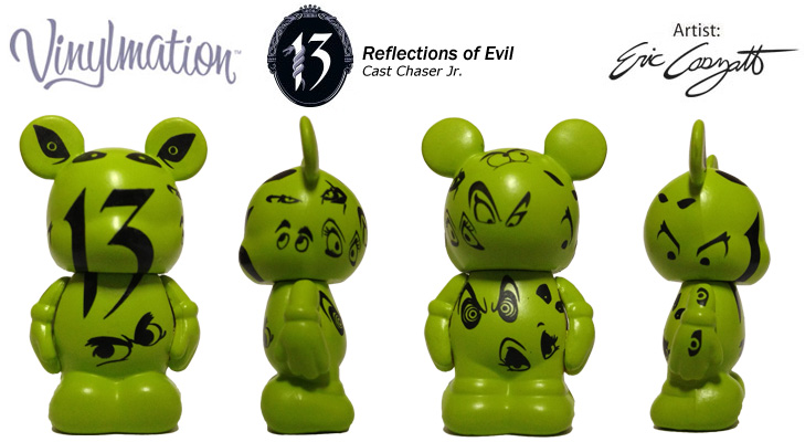Vinylmation Open And Misc 13 Reflections of Evil Cast Chaser Jr.