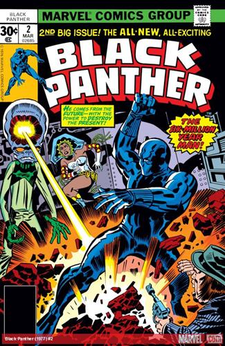 Marvel Comics Black Panther (1977 - 1979) Black Panther (1977) #2 Icon