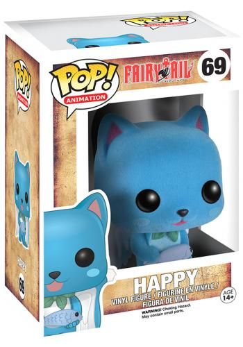 Funko Pop! Animation Happy (Flocked) Stock