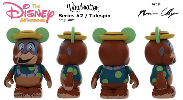 Vinylmation Open And Misc Disney Afternoon 2 King Louie