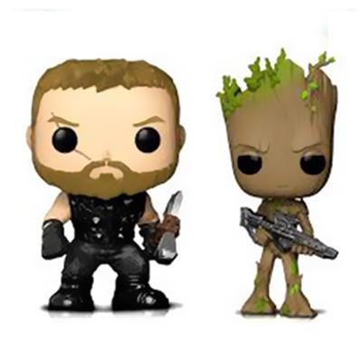Funko Pop! Marvel Thor and Groot