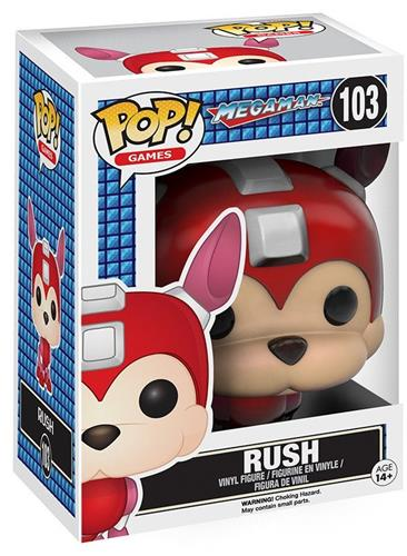 Funko Pop! Games Rush Stock