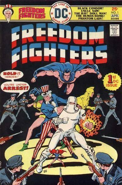 DC Comics Freedom Fighters (1976)