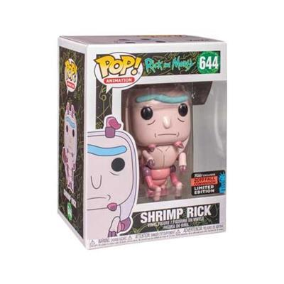 Funko Pop! Animation Shrimp Rick Stock