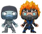 Funko Pop! Games Scorpion & Sub-Zero (Fatality)