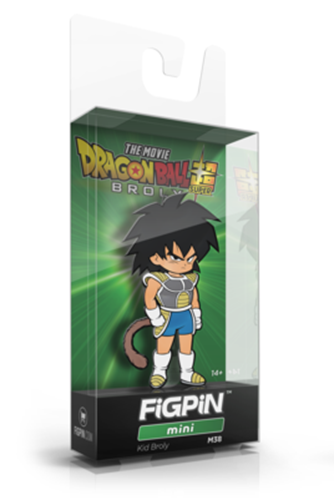 FiGPin Dragon Ball Super Kid Broly Stock