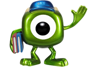 Funko Pop! Disney Mike Wazowski (Monsters University) (Metallic)