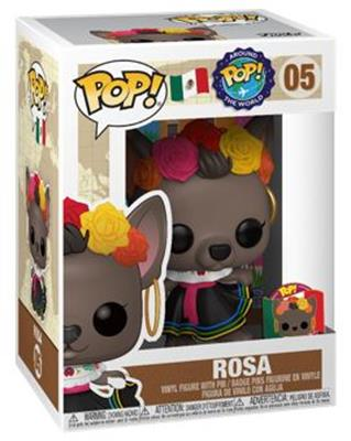 Funko Pop! Around The World Rosa Stock