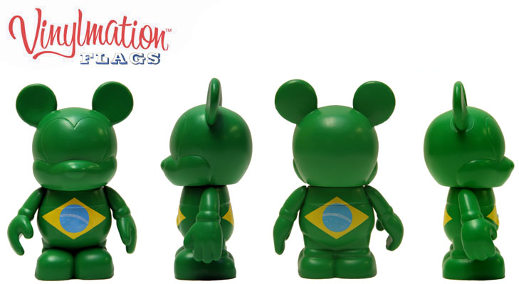 Vinylmation Open And Misc Flags Brazil