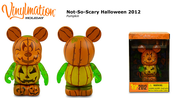Vinylmation Open And Misc Holiday 2012 Not-So-Scary Halloween Pumpkin