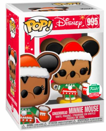 Funko Pop! Disney Gingerbread Minnie Mouse Stock