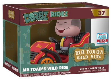 Dorbz Dorbz Ridez Mr. Toad's Wild Ride Stock
