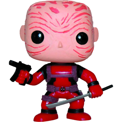 Funko Pop! Marvel Deadpool (Unmasked)