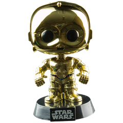 C-3PO (Chrome Metallic)