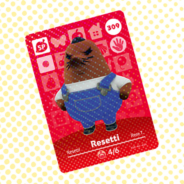 Amiibo Cards Animal Crossing Series 4