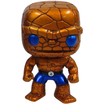 Funko Pop! Marvel The Thing (Metallic)