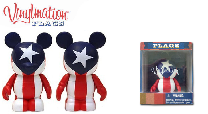 Vinylmation Open And Misc Flags Puerto Rico