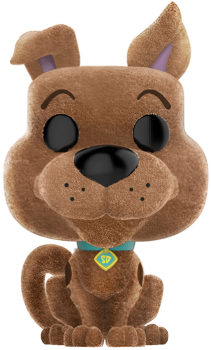 Funko Pop! Animation Scooby-Doo (Flocked)