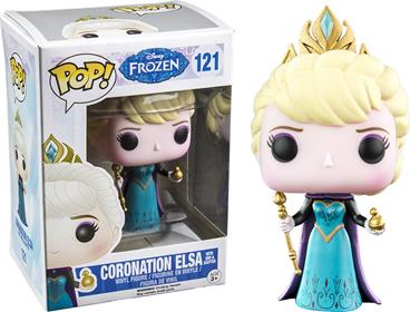 Funko Pop! Disney Coronation Elsa with Orb & Scepter Stock