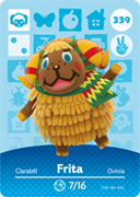 Amiibo Cards Animal Crossing Series 4 Frita