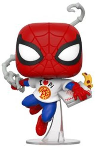 Funko Pop! Marvel Spider-Man (w/ Pizza)