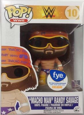 "Funko Pop! Wrestling ""Macho Man"" Randy Savage (Purple) Stock"