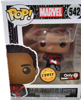 Funko Pop! Marvel Miles Morales (Gamer) (Chase) Stock