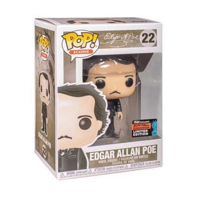 Funko Pop! Icons Edgar Allen Poe (Book) Stock