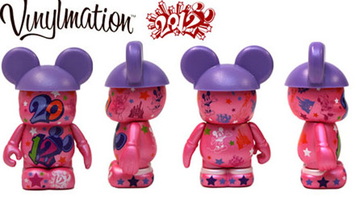 Vinylmation Open And Misc 2012 Edition Pink 2012