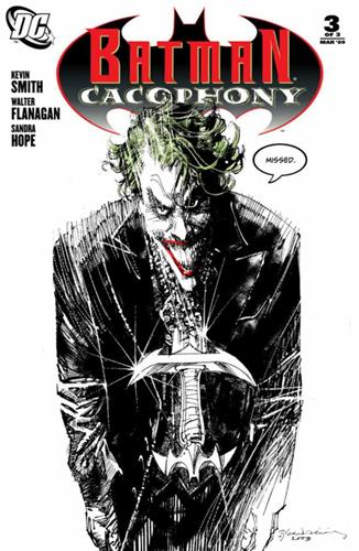 DC Comics Batman Cacophony (2008) Batman Cacophony (2008) #3 (Bill Sienkiewicz Variant Cover) Icon