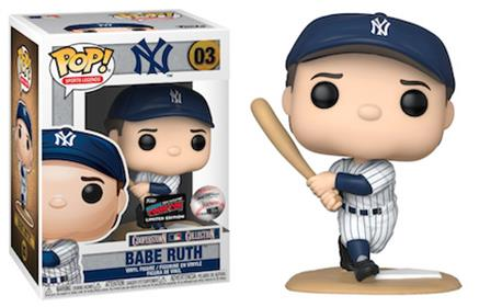 Funko Pop! Sports Legends Babe Ruth (NYCC 2019) Stock