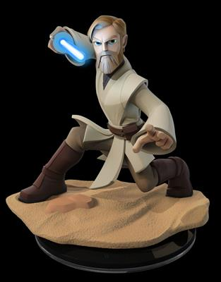 Disney Infinity Figures Star Wars Obi-Wan Kenobi (Light FX)